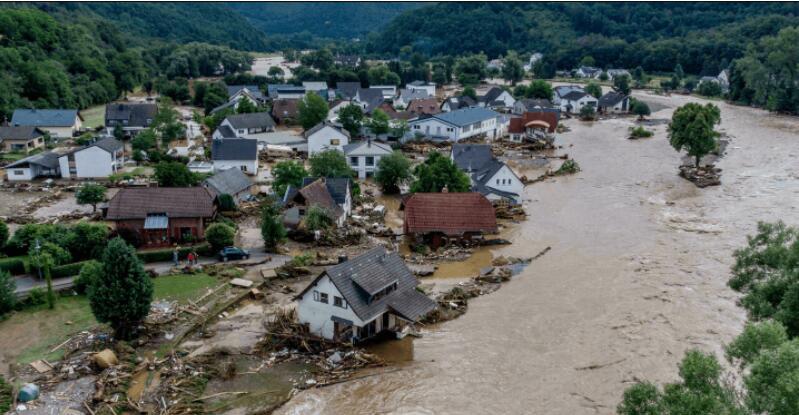 德国西部洪灾夺走超过150条人命